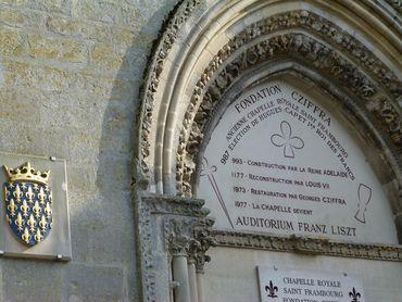 Chapelle royale saint frambourg fondation cziffra picardie oise senlis journ es nationales - Bowling porte de la chapelle tarif ...